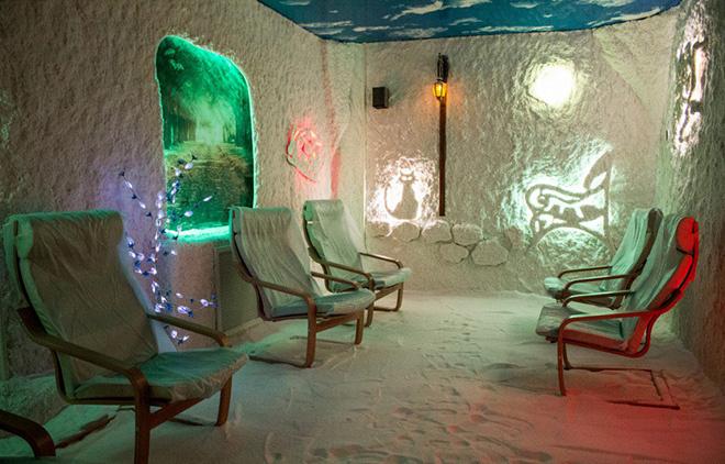 соляная пещера Соль+ Тольятти