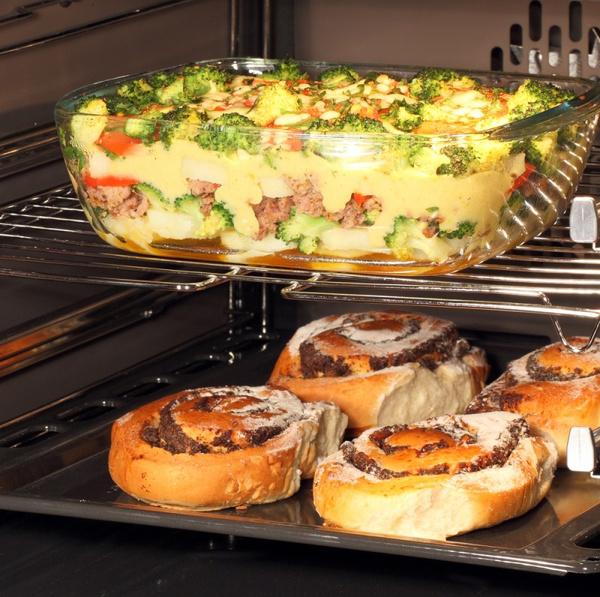 блюда в духовке в стеклянной посуде рецепты с фото