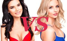 Брюнетки против блонда: 50 участниц «Мисс Россия»