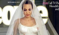 Джоли и Питт продали свадебные фото за $7 млн