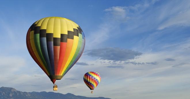 Воздушные шары в Кунгуре