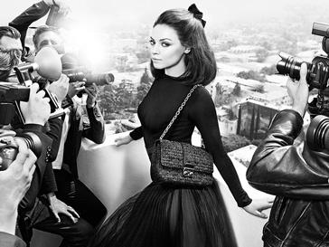 Мила Кунис (Mila Kunis) в рекламной кампании Miss Dior сезона осень-зима 2012