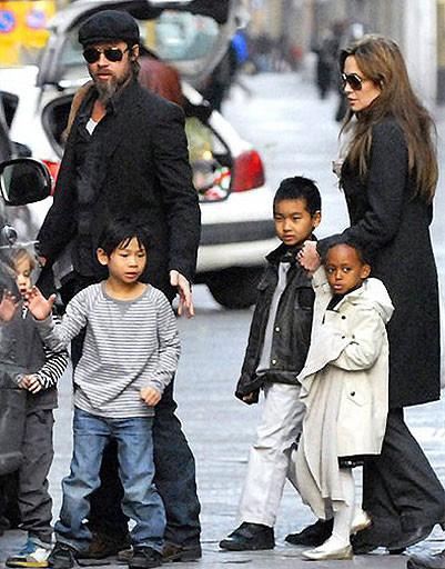 Приемные дети голливудских звезд