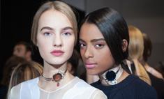 Как повторить макияж с показа Dior весна-лето 2016