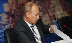 Владимир Путин ответил блогеру по поводу истории о развале системы пожаротушения