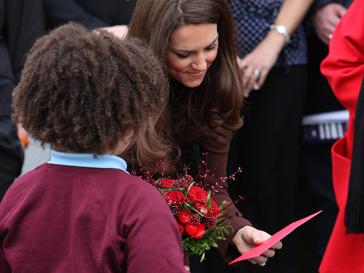 Герцогиня Кэтрин и юный поклонник