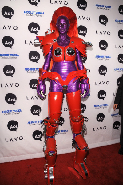 Хайди Клум готовится к Хэллоуин