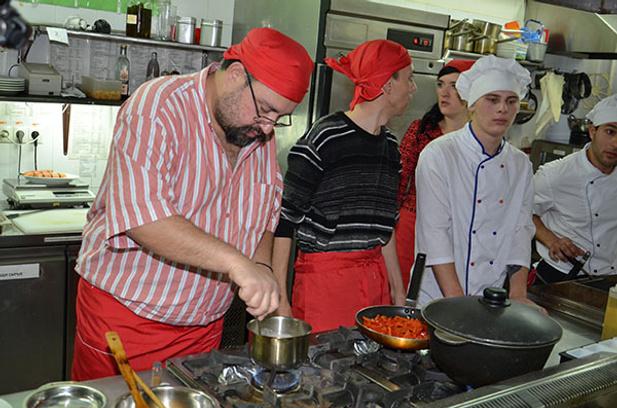Петр Алекперов на конкурсе «Золотой чапельник»