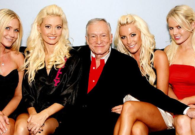 Хью Хефнер и его подружки