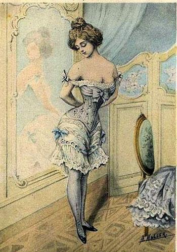 Панталоны, какое белье носили раньше