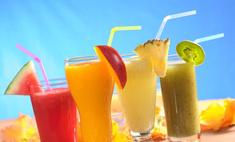 Ученые советуют отказаться от свежевыжатых соков