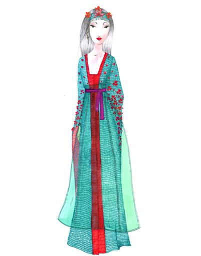 Платье Missoni для Мулан