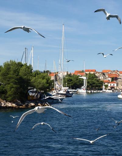 Vrboska, Hvar Island - Пляж Врбоска, остров Хвар