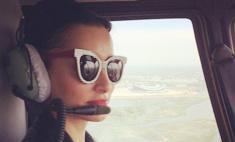 Тина Канделаки запела в вертолете