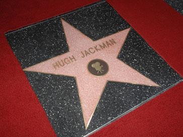 "Звезда Хью Джекмана (Hugh Jackman) на ""Аллее славы"""