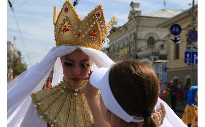 Карнавал Пермское яркое