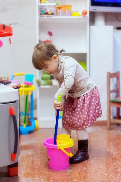 как приучить ребенка наводить порядок
