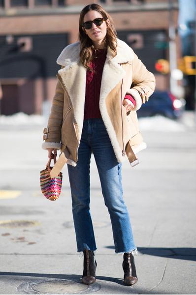 Стрит стайл: как одеваться зимой 2016