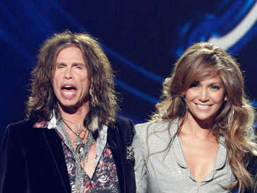 Стив Тайлер и Дженнифер Лопес работают вместе на шоу American Idol