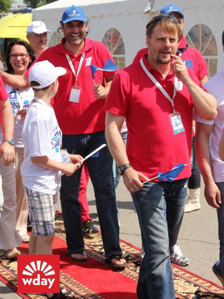 Благотворительная акция «Первого канала» «Стань первым» в Туле, Виталий Елисеев