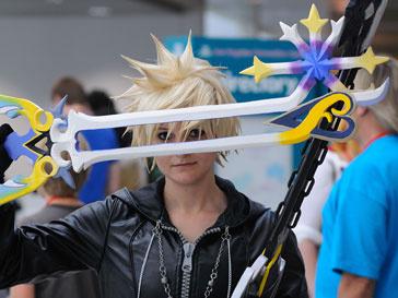 Посетители выставки Anime Expo сами становятся ее экспонатами