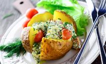 Картофель, запеченный в духовке в фольге