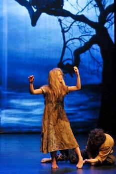 Спектакль «Скрюченный король» Национального центра балетного искусства (Франция)