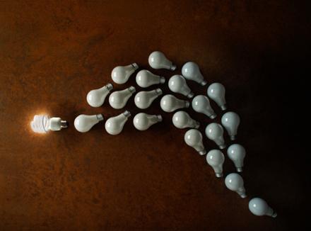 Изображение лампочек