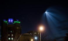 В Новокузнецке сняли запуск ракеты с Байконура