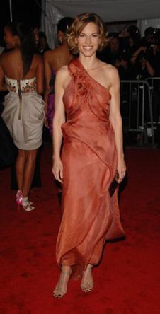 Хилари Суонк в Calvin Klein