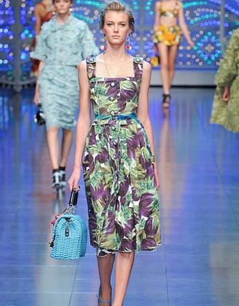Dolce & Gabbana, коллекция весна-лето/2012