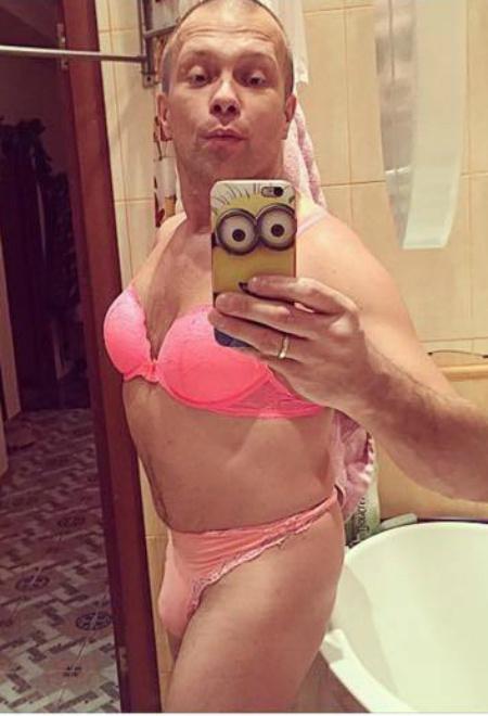 Диджей Грув в нижнем белье: фото