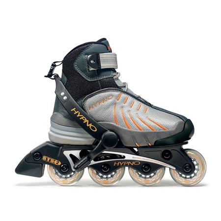 Hypno Walky Set `2005 Цена: 1400 рубТрансформеры - рама отстегивается и в ботинках можно ходить. В комплект входят наколенники и защита на запястья.