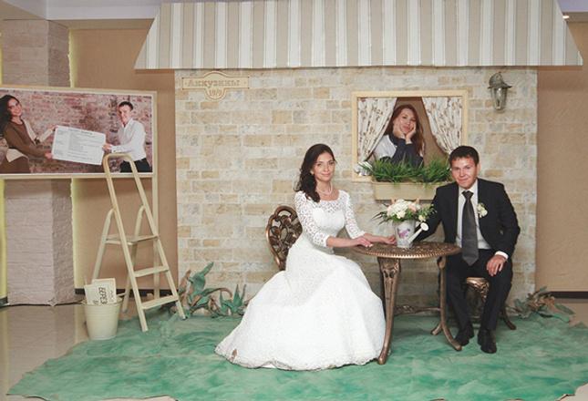 Наталия и Антон Аккузины, свадьба