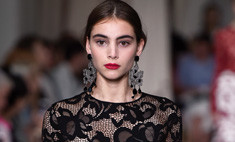 Самые красивые «голые» платья Недели моды в Нью-Йорке