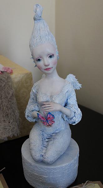 Юлия Косымина, Выставка «Тайна кукольного шкафа», фото