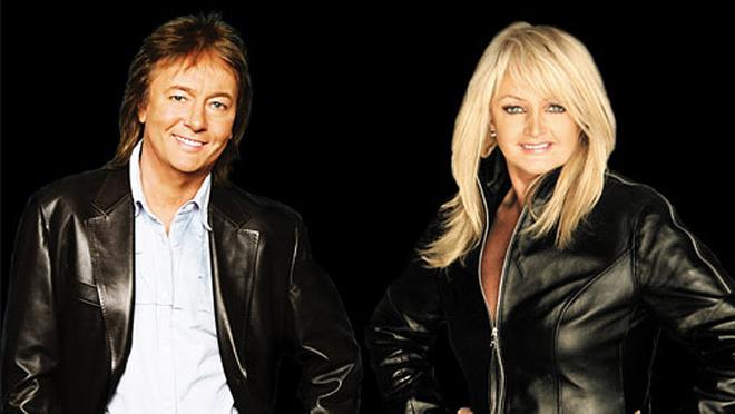Крис Норман, музыкант, с женой Линдой, фото