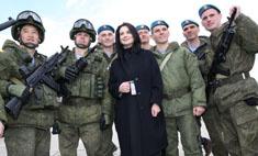 Звездный десант на репетиции Парада Победы