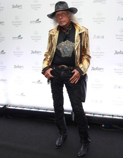 Джеймс Голдштейн на Mercedes-Benz Fashion Week весна-2013