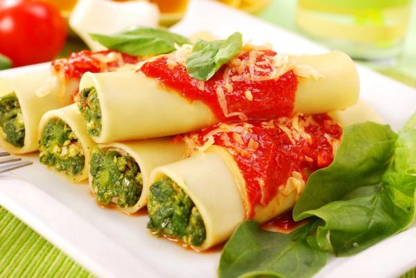 Рецепты фаршированных макарон