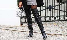 Модные ботфорты: какие выбрать и с чем носить этой зимой
