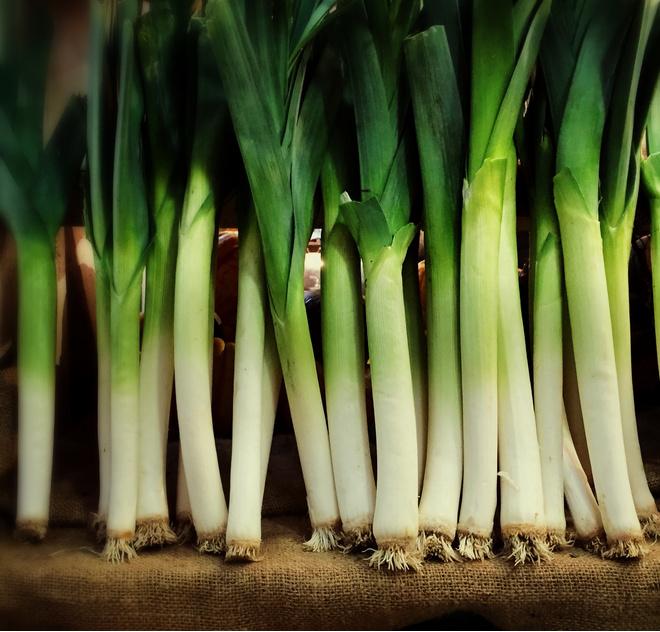 Как хранить лук порей