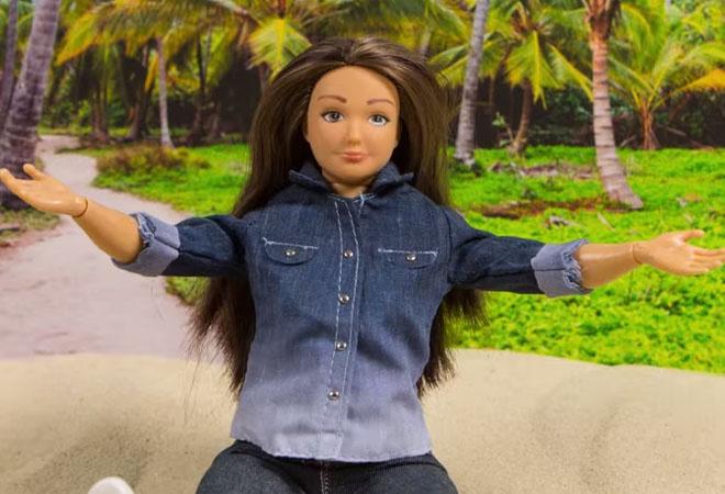 Толстая кукла Барби