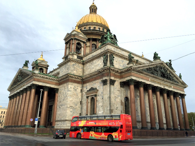 City Sightseeing в Санкт-Петербурге