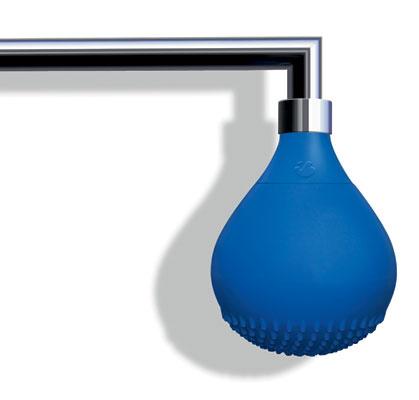 Душевая лейка Drop, цветной силикон, IB Rubinetterie, www.ibrubinitterie.it, салон Tendenza.