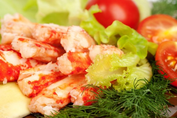 Рецепты с крабовым мясом