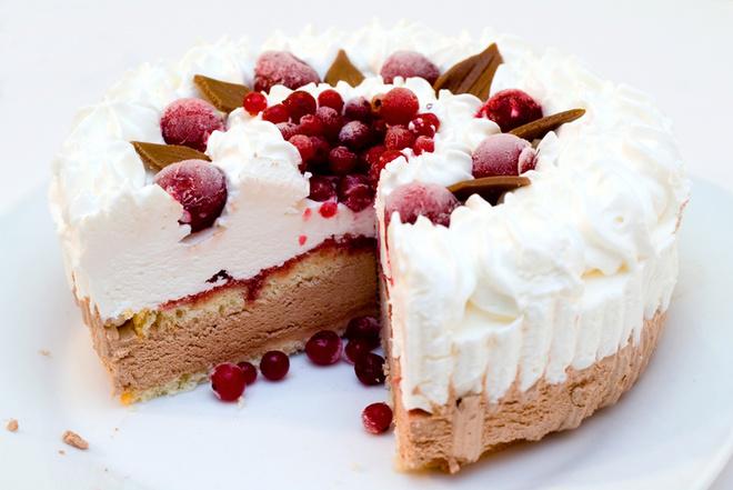 Торт-мороженое по-домашнему
