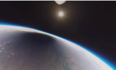 Вот как выглядит солнечное затмение из космоса (видео)