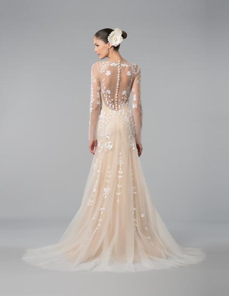 Новая свадебная коллекция Carolina Herrera осень 2015