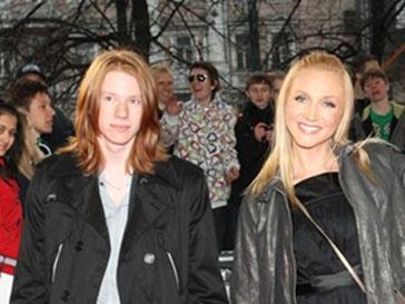 Никита Пресняков и его мама Кристина Орбакайте